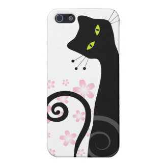 Whimsical Cat i Case For The iPhone 5