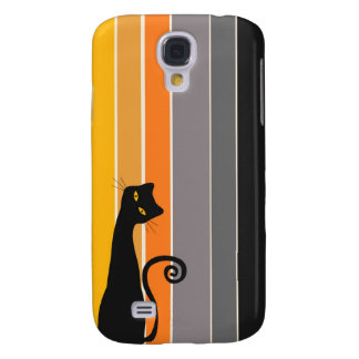 Whimsical Cat  Samsung Galaxy S4 Cases
