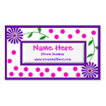 Whimsical Children's and Mummy Cal... Pack Of Standard Business Cards