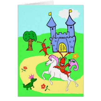 Whimsical Child's Birthday Card