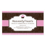Whimsical Cupcake Bakery Business Card