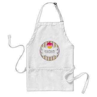 Whimsical Cupcake Bakery Personalized Apron