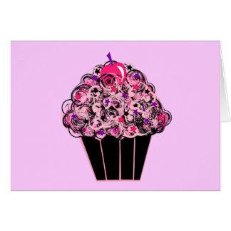Whimsical Cupcake Card