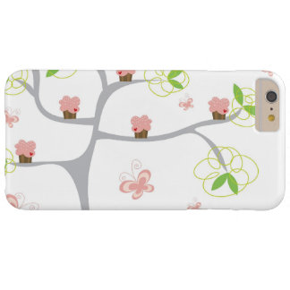 Whimsical Cupcakes Tree Butterflies Sweet Birthday Barely There iPhone 6 Plus Case