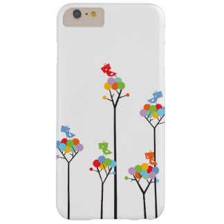 Whimsical Cute Tweet Birds Colorful Fun Tree Dots Galaxy S4 Cover