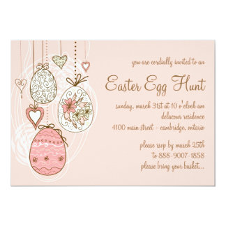 Whimsical Easter Eggs | Easter Egg Hunt Invitation