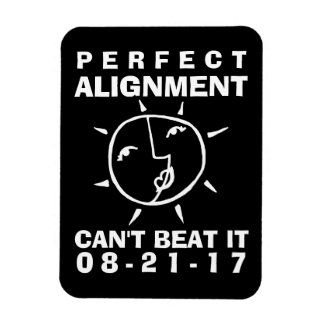 Whimsical Eclipse Perfect Alignment 3 x 4 Magnet