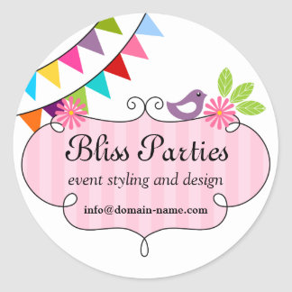 Whimsical Event Styling and Design Stickers