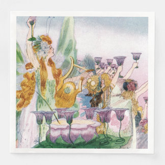 Whimsical Fairyland Party Disposable Napkin