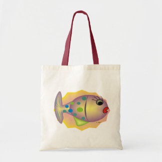 Whimsical Fish Art Gifts by gail gabel Tote Bag