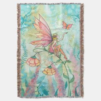 Whimsical Flower Fairy Fantasy Art