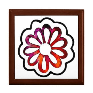 Whimsical Flower Power Doodle Gift Box