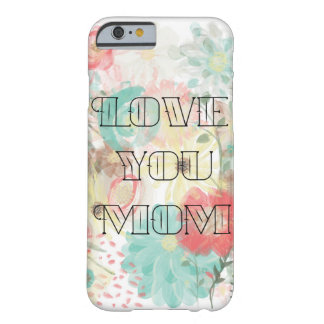 Whimsical Flowers Mother's Day Barely There iPhone 6 Case