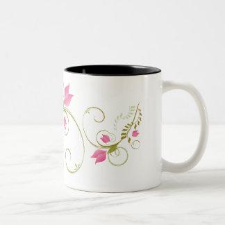 Whimsical Flowers Mug Design