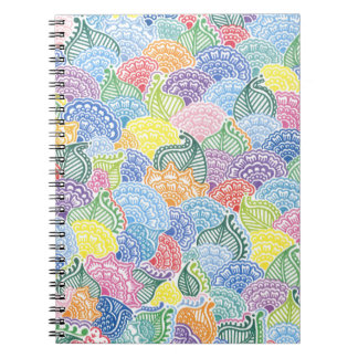Whimsical Flowers Notebook