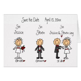 Whimsical Fun Save the Date! Card