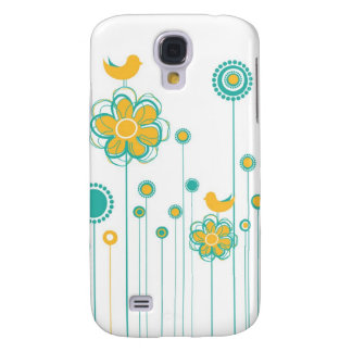 Whimsical Garden  Galaxy S4 Covers