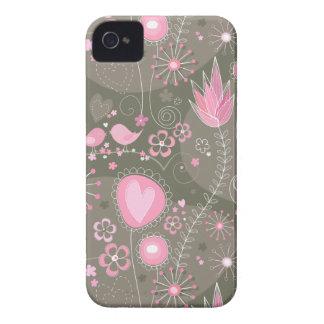Whimsical Garden in Pink BlackBerry Bold Case