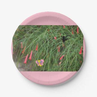 Whimsical garden plates