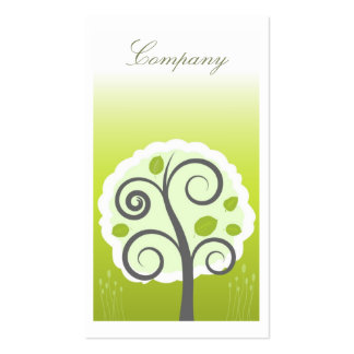 Whimsical Garden Profile Card Pack Of Standard Business Cards