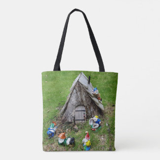 Whimsical Gnomes Together Tote Bag