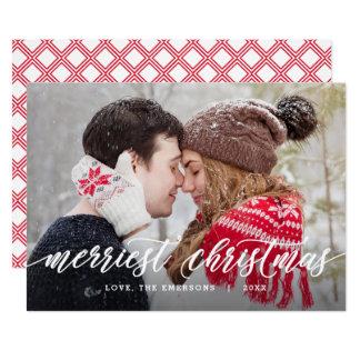 Whimsical Greeting Editable Color Christmas Card