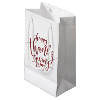 Whimsical Happy Thanksgiving Day | Gift Bag