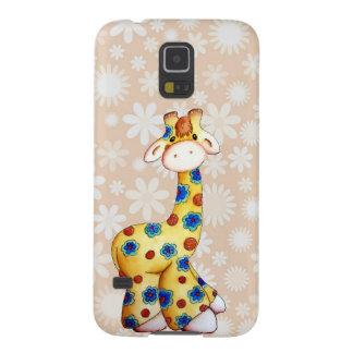 Whimsical Hippie Giraffe Samsung Galaxy S5 Case