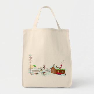 Whimsical Holiday Tote Bag