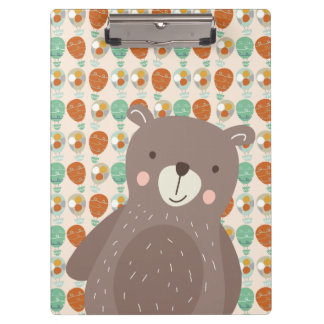 Whimsical Hot Air Balloons Clipboards