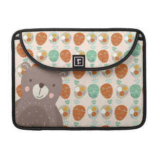 Whimsical Hot Air Balloons Sleeve For MacBook Pro