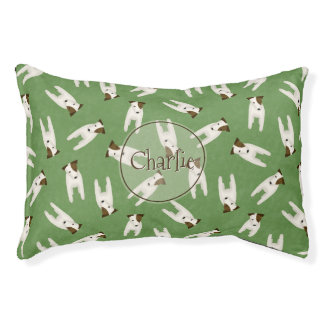 whimsical Jack Russell Terrier pattern dog's name