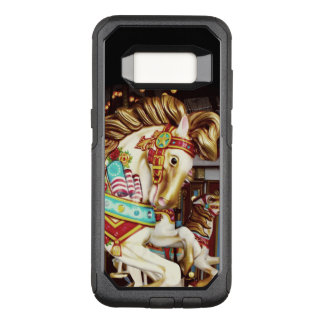 Whimsical Merry Go Round Carousel Horse OtterBox Commuter Samsung Galaxy S8 Case