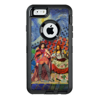 Whimsical Mona Lisa Romantic Colorful OtterBox iPhone 6/6s Case