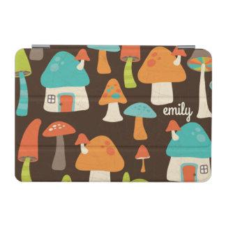 Whimsical Mushroom Houses Custom iPad Mini Cover
