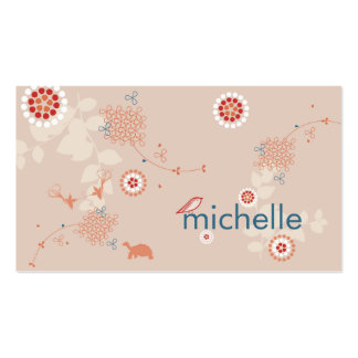 Whimsical Nature Business Card