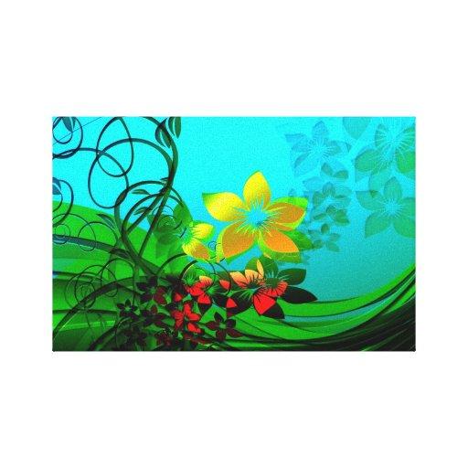 Whimsical Nature Scene Canvas Print