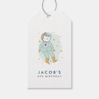 Whimsical Outer Space Favour Tags