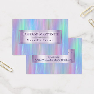 Iridescent business cards business card printing for Iridescent business cards