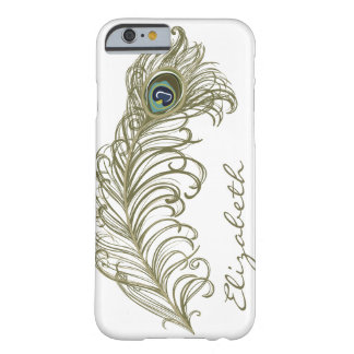 Whimsical Peacock Feather iPhone 6 case