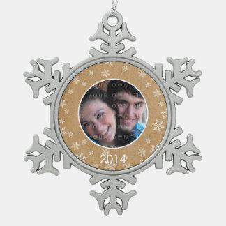 Whimsical Snowflakes Snowflake Ornament