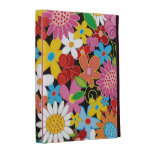 Whimsical Spring Flowers Garden Colourful iPad iPad Cases