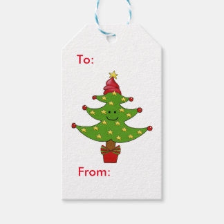 Whimsical Star Tree Gift Tags