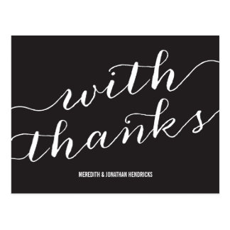 Whimsical Thank You Post Cards