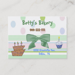 Pretty cake business cards zazzle au whimsical topsy turvy cake bakery business card reheart Images