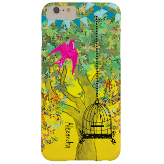 Whimsical Tree Birdcage Bright Color Musical Notes Barely There iPhone 6 Plus Case