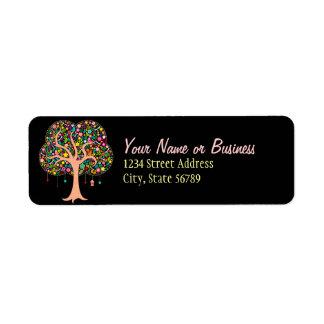 Whimsical Tree - Custom Return Address Labels