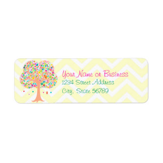 Whimsical Tree - Custom Return Address Labels