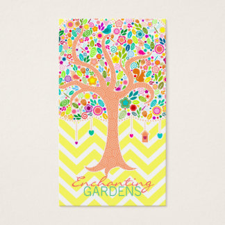 Whimsical Tree - Custom (Vertical) Business Cards