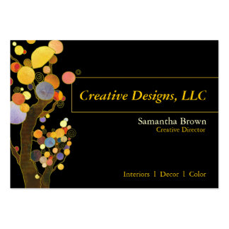 Whimsical Trees Designer Business Cards